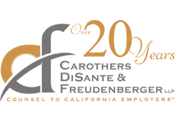 Carothers DiSante Freudenberger LLP